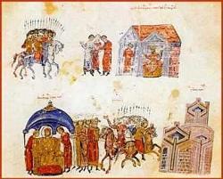 Кханасюбиги Крум се готви за война през зимата на 813 година