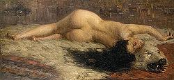 Загадката на голата жена върху мечата кожа