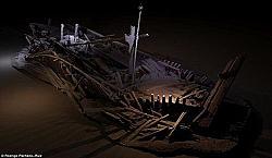 Сензация: Древни кораби на 2,5 хил. години в Черно море